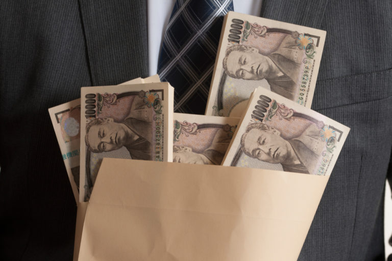 日本人社員の不法調査